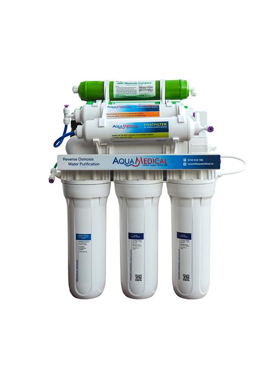 Purificator AquaMedical 8 stadii de filtrare  AQ-Optim-8
